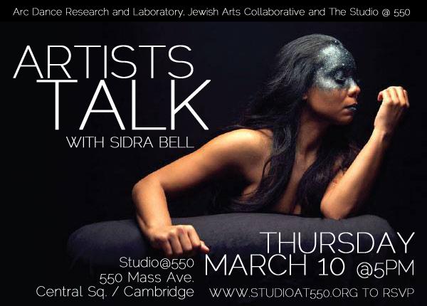 ARTISTS TALK with Sidra Bell