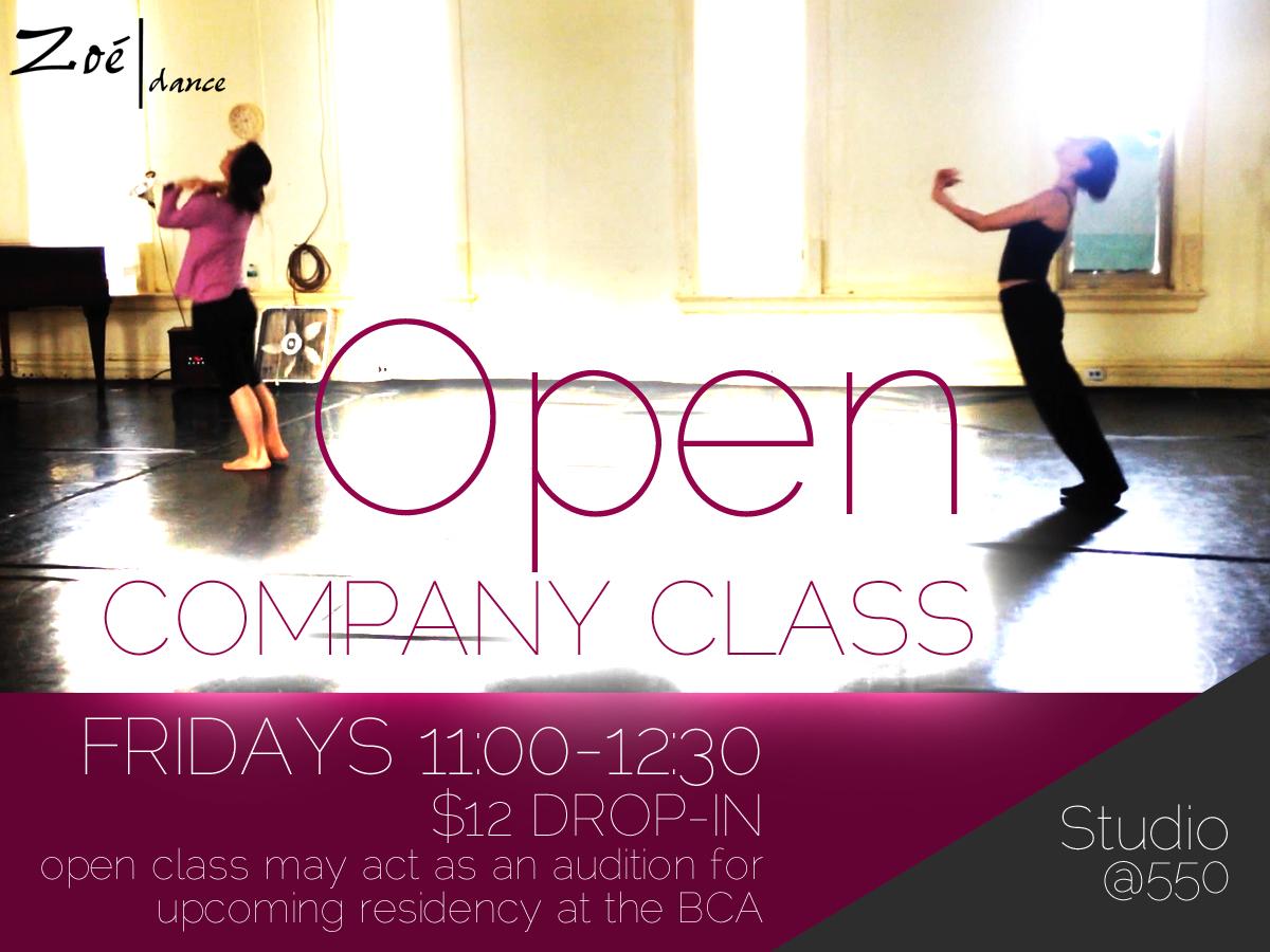 Zoe Dance Open Company Class / Audition