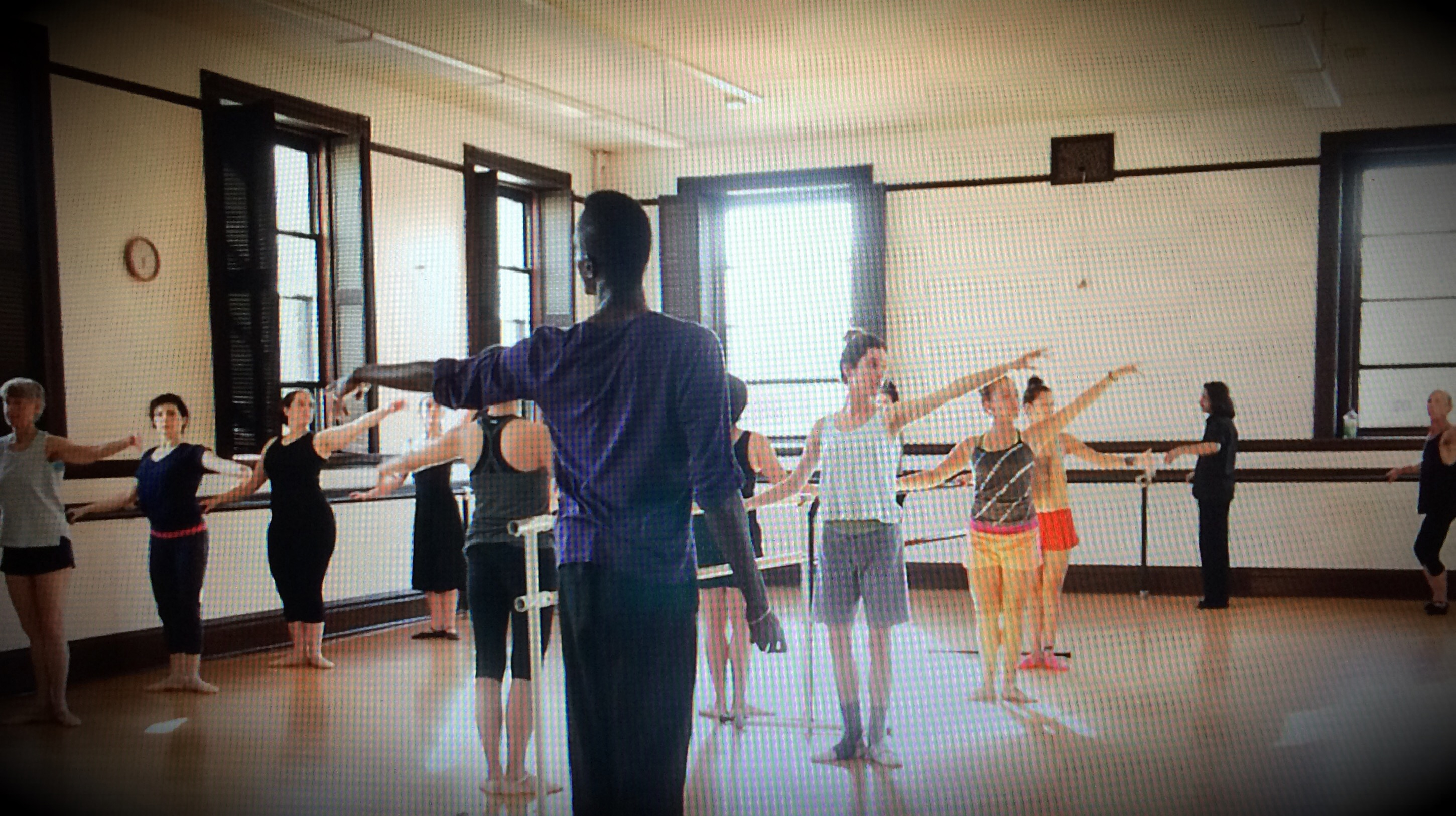 Ballet Mechanics with Ronnie Thomas