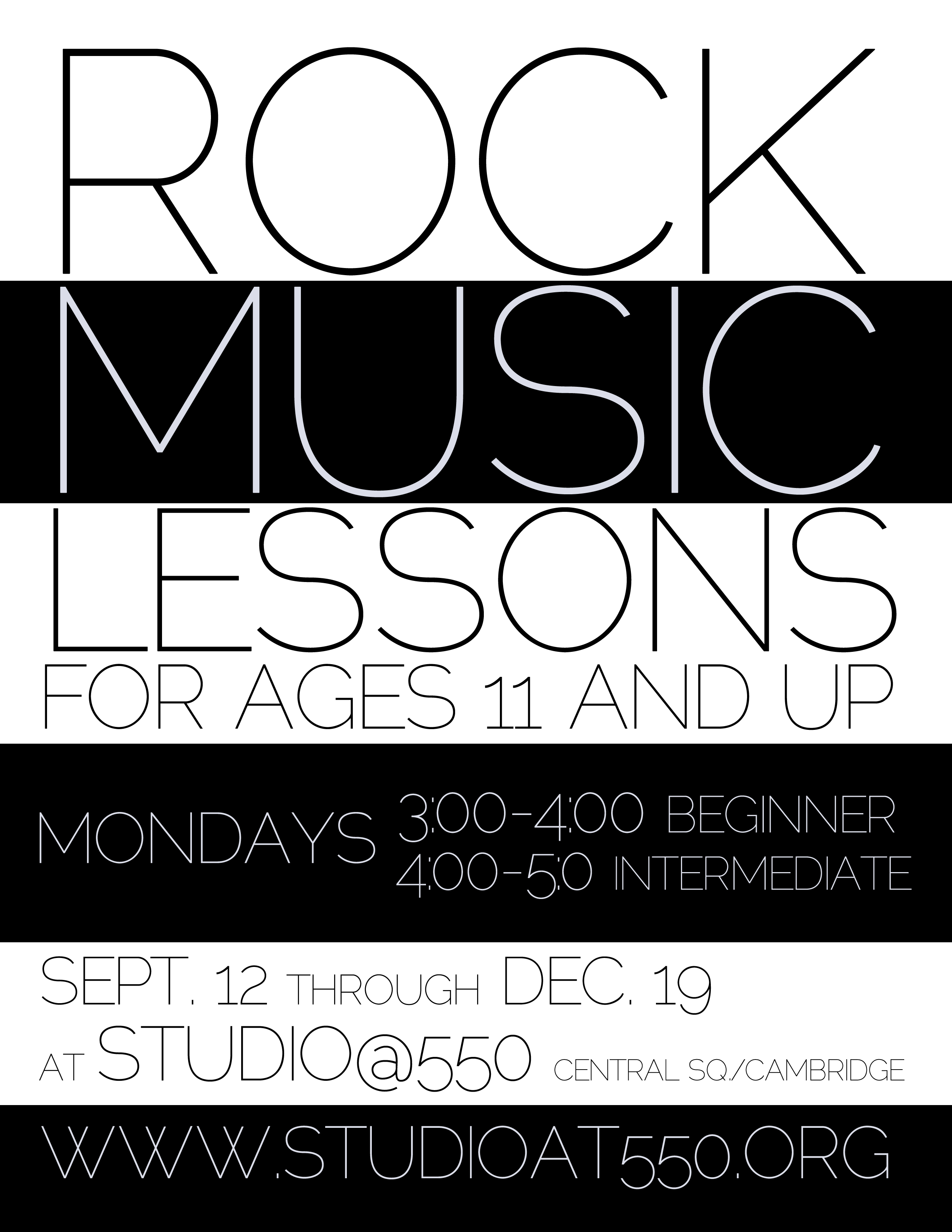 Rock Music Lessons