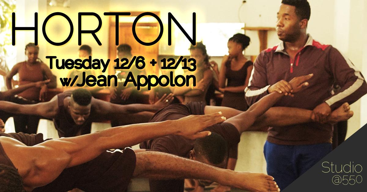 Jean Appolon Horton Class
