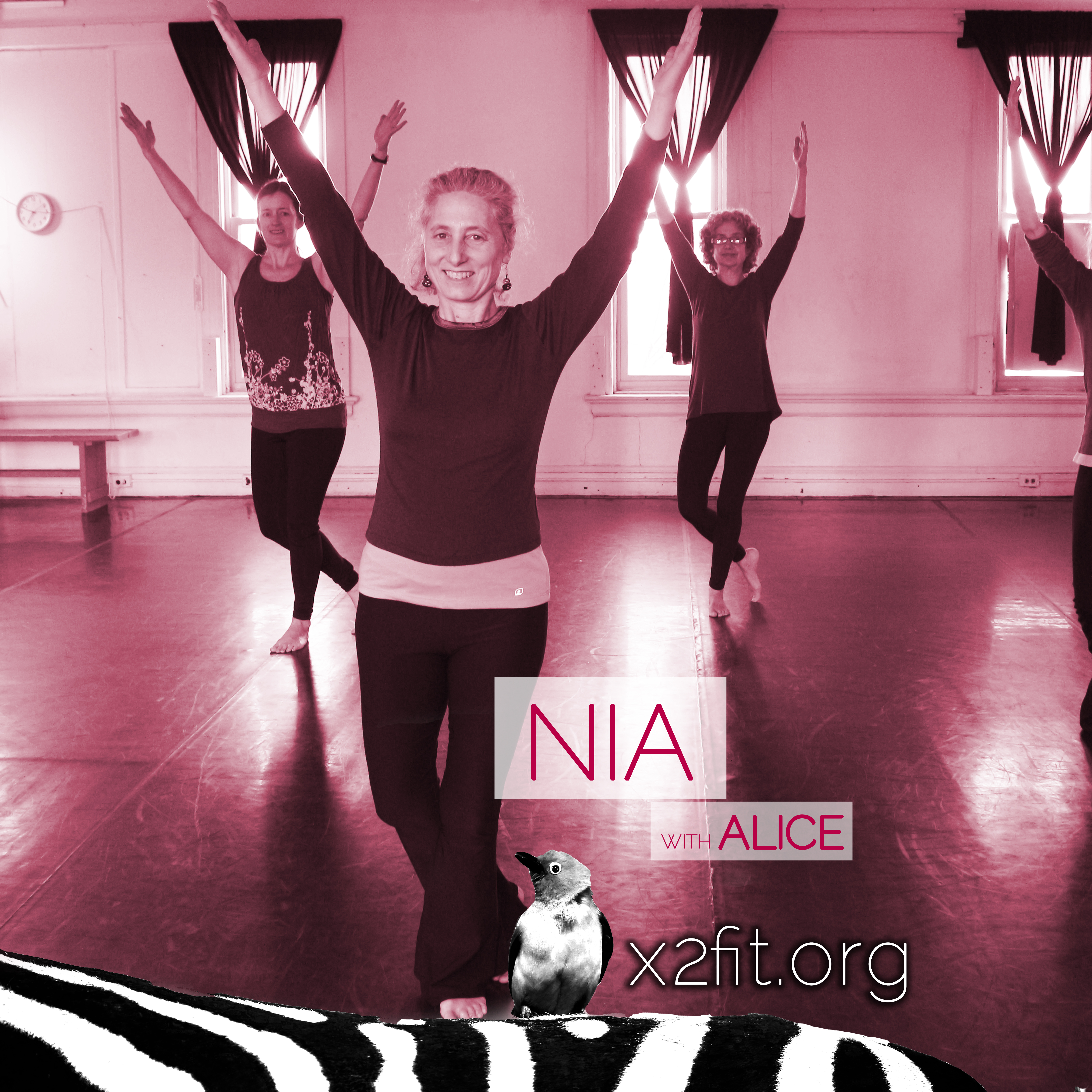 Nia with Alice Heller