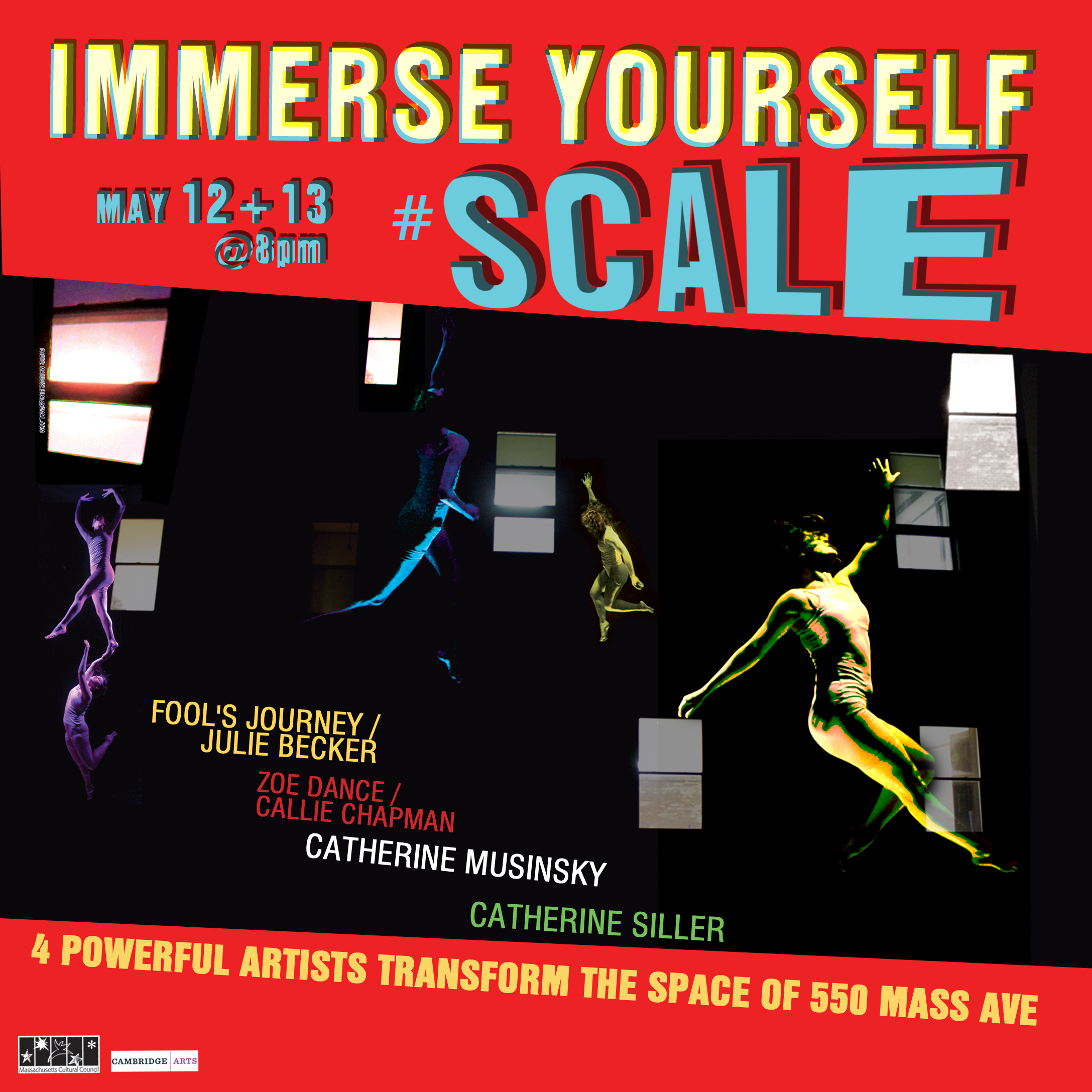 SCALE an immersive experience SATURDAY 5/13