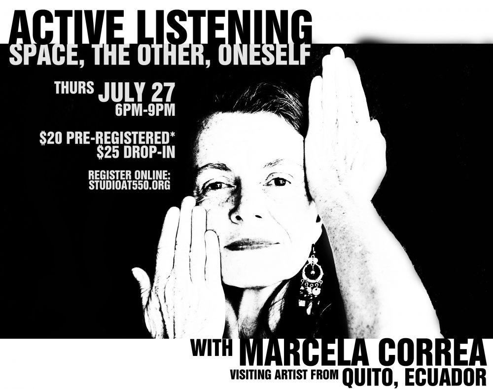 Active Listening Workshop with Marcela Correa (Quito, Ecuador)