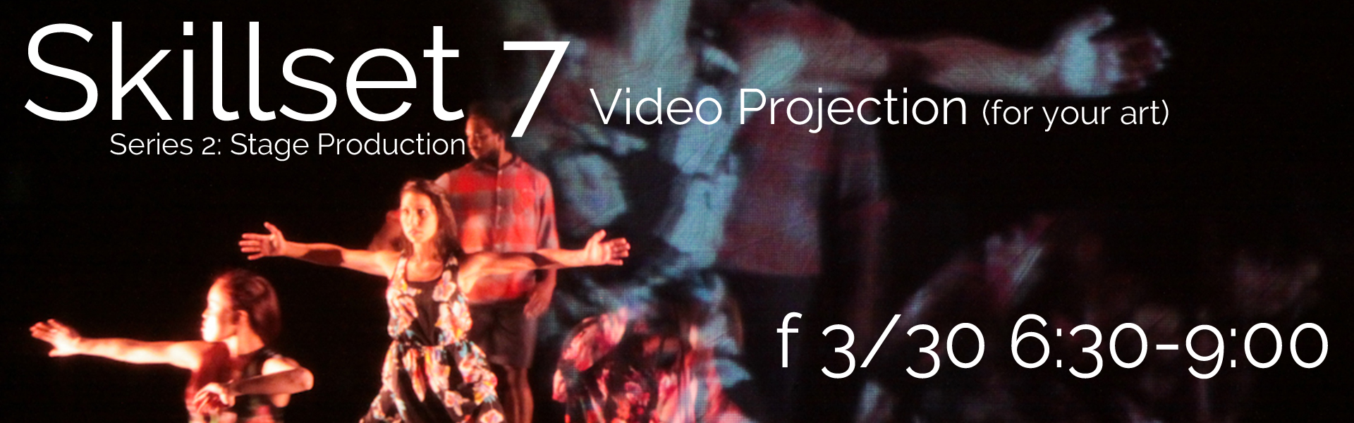 Skillset No. 7 Video Projection (for your art)