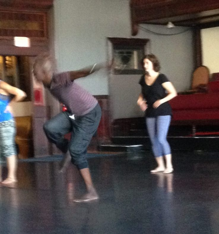 West Afro Beat Dance training with Papa Sy – Studio at 550
