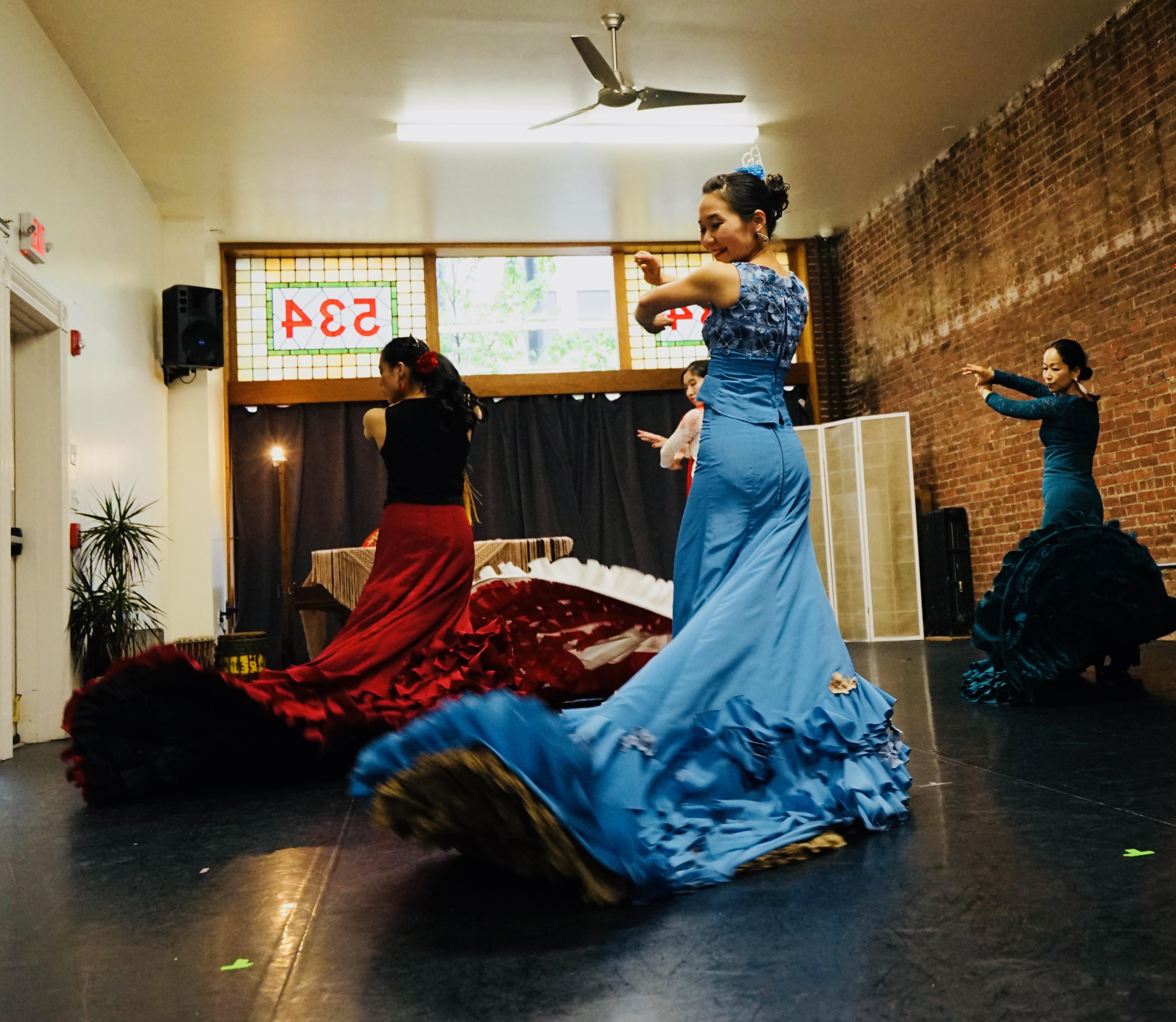 Flamenco Class with Yu-Ling Hu
