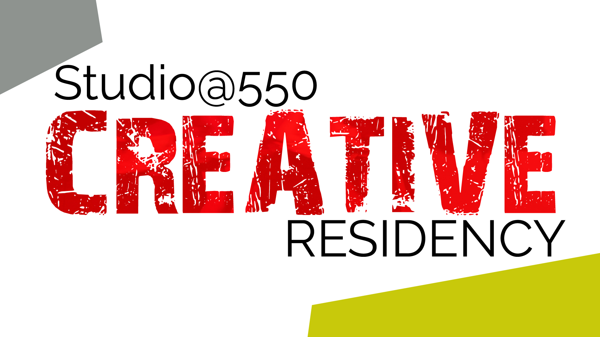 Apply to the 550 Creative Residency