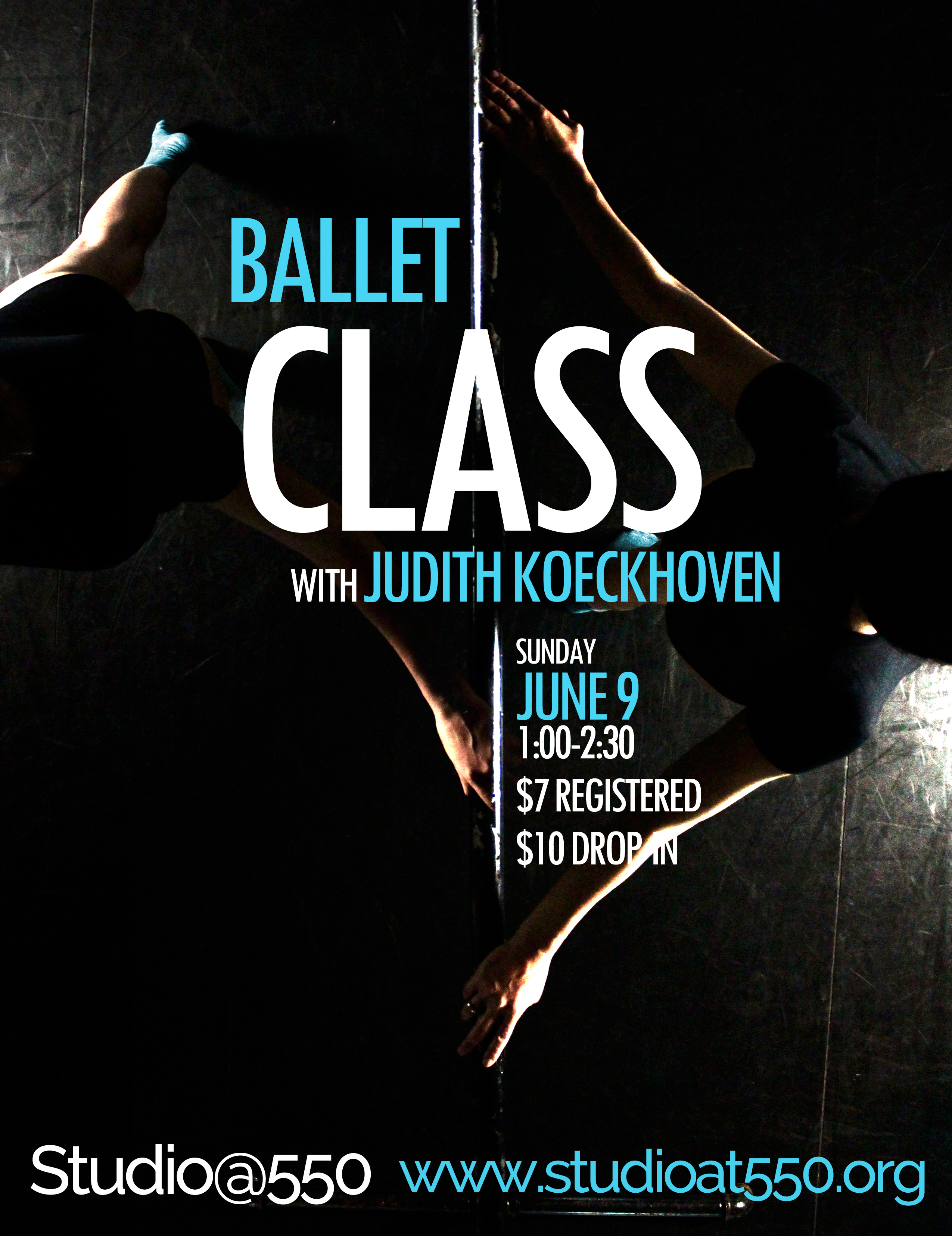 Ballet Class with Judith Koeckhoven (a workshop series)