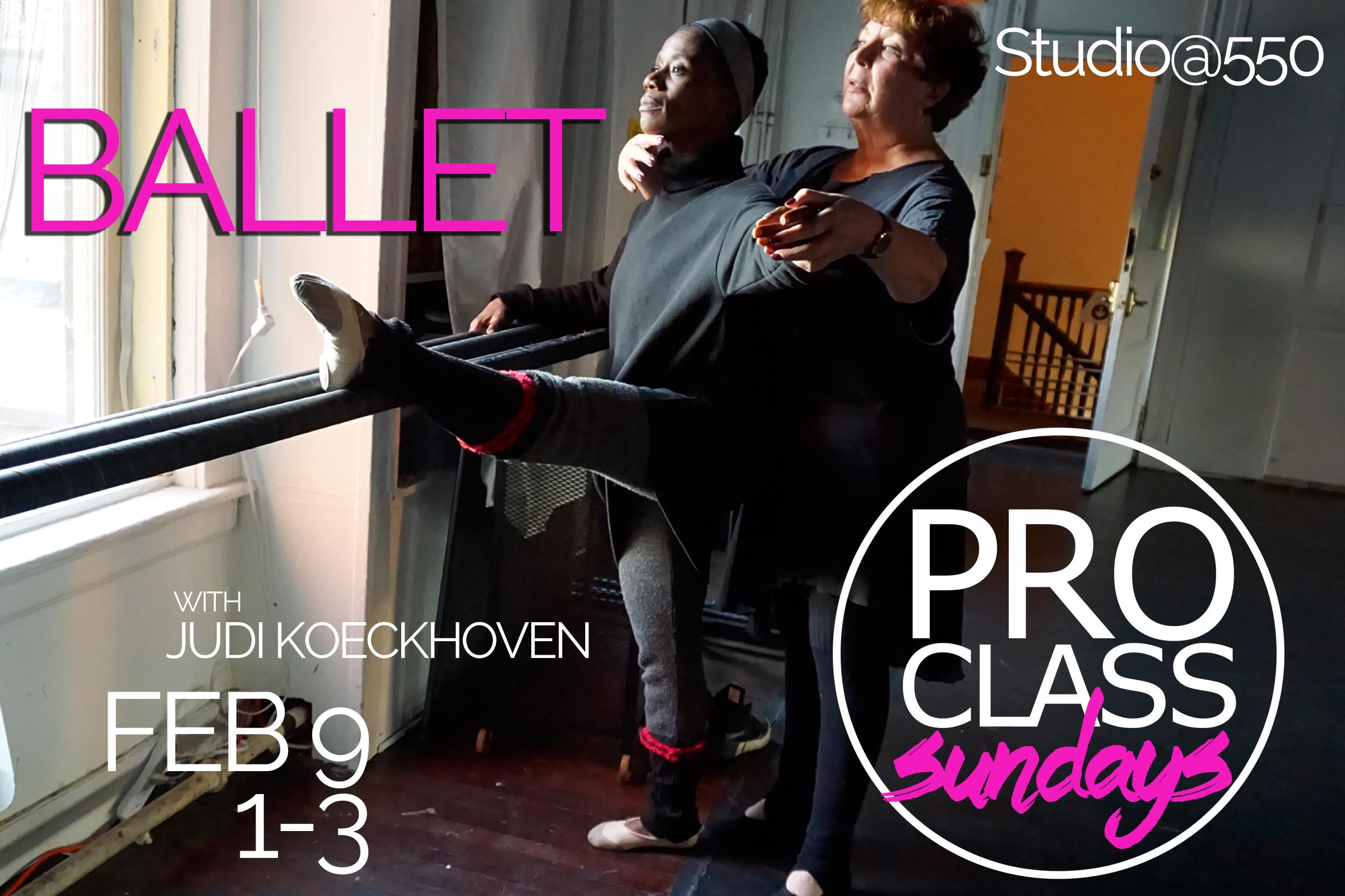 Pro Level Class Series - Judi Koeckhoven BALLET