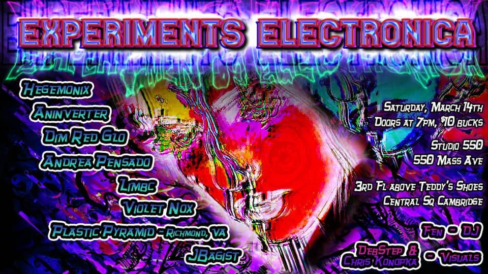 Experiments Electronica * postponed *