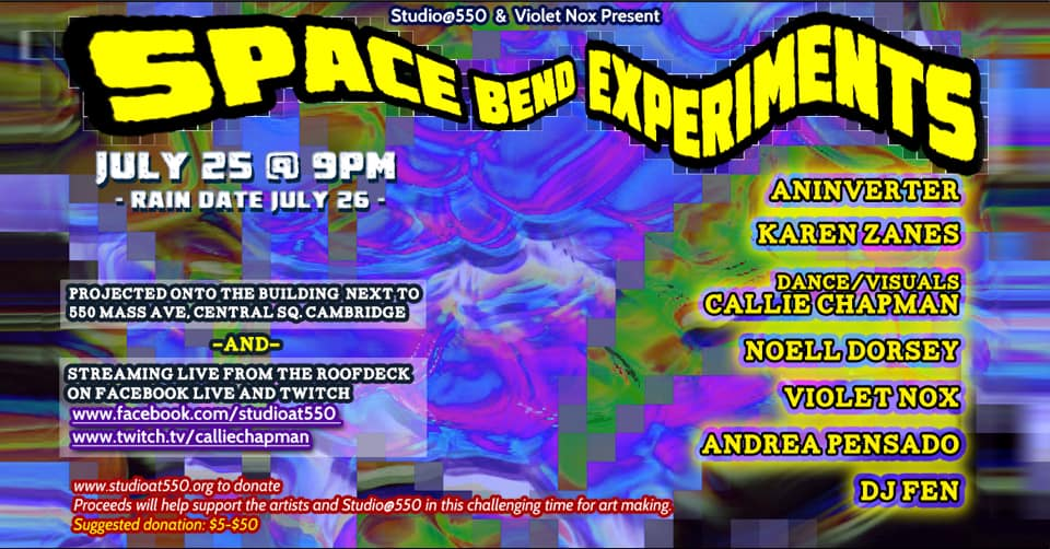 Space Bend Experiments presented by Studio at 550 and Violet Nox
